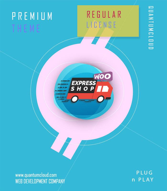 Express Shop Premium Theme - Without Plugin