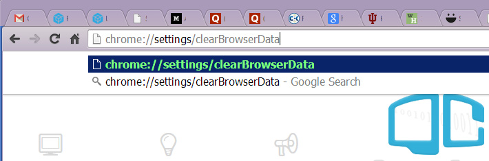 chrome-clear-browser-cache