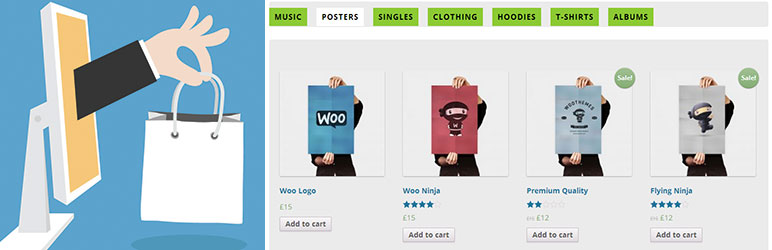 WooCommerce Tabbed Category Wise Product Listing