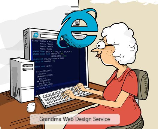 Grandma Web Design Company