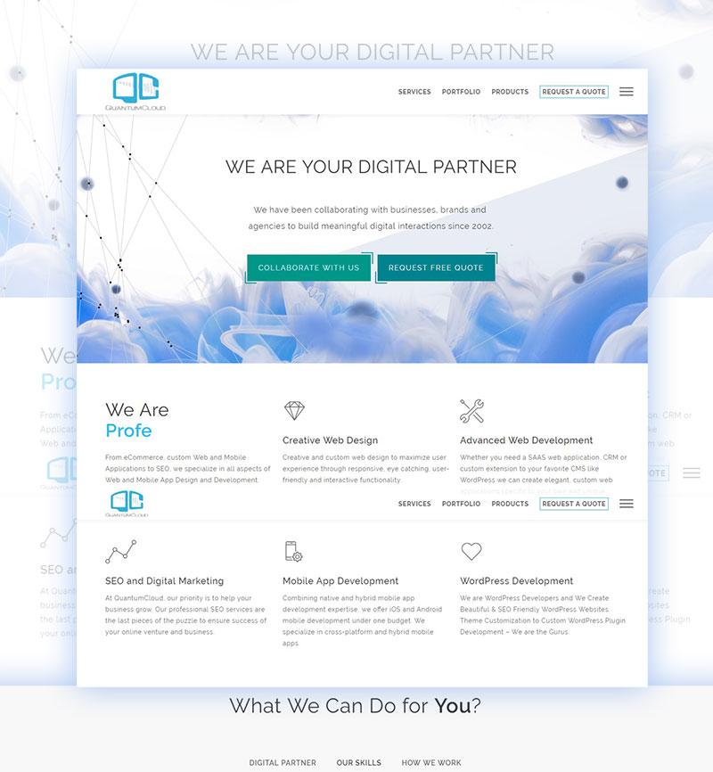 digital agency for web mobile app development wordpress services