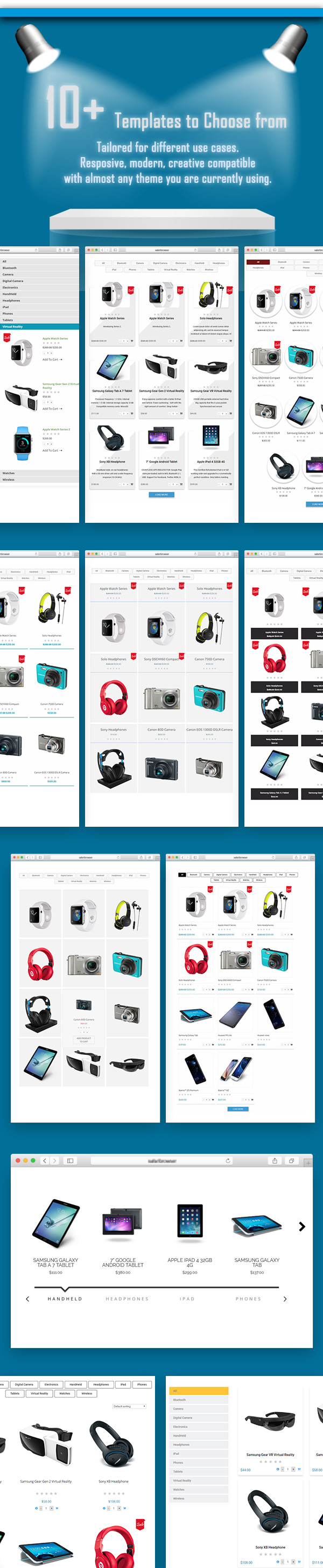 WooCommerce Tabbed Category Product Listing - Pro - 5
