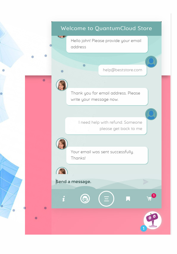 ChatBot for WooCommerce - Retargeting, Exit Intent, Abandoned Cart, Facebook Live Chat - WoowBot - 18